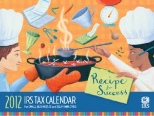IRS Tax Calendar 2012 (2)